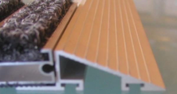 Anlauf-Profil, Aluminium
