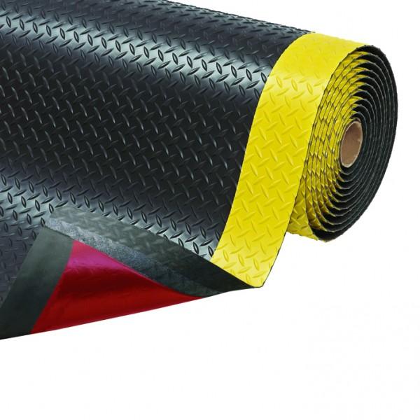 Saddle Trax, schwarz/gelb