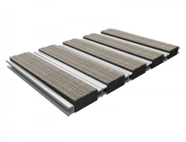 TireGuard 12 mm Höhe, doppelt, geschlossen, mit textiler Oberfläche