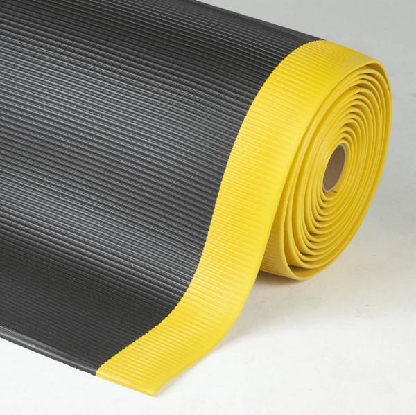 Crossrib Sof-Tred, schwarz-gelb