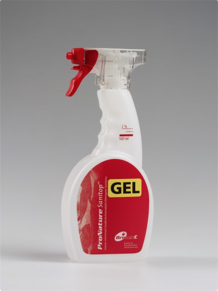 Sprayflasche Sanitop GEL