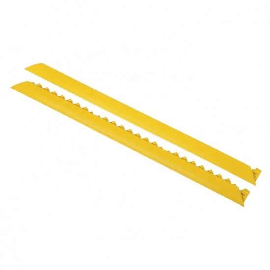Weibliches Anlaufprofil 91 cm, Schwarz-Gelb