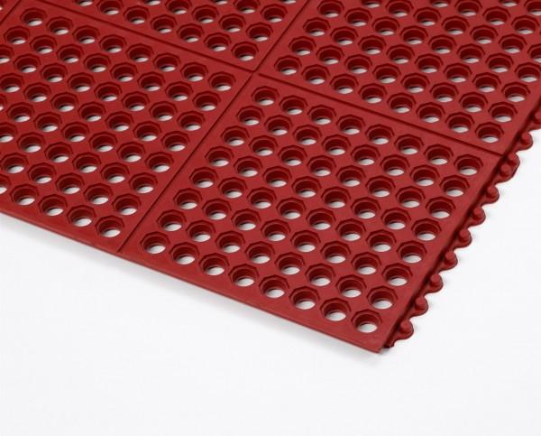 Arbeitsplatz-Bodenmatte Cushion Ease™ Rot